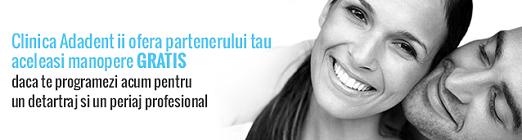 Promotie Cuplu - Clinica stomatologica Adadent