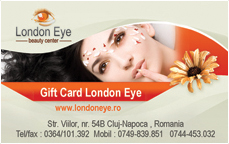 Gift Card London Eye