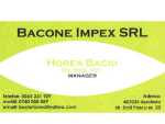 BACONE IMPEX SRL - Cabinet medical veterinar APAHIDA