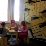 Loc de joaca pentru micii pacienti