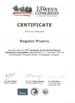 Certificat Dr. Bogdan Pirvariu