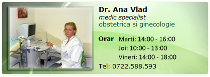 Ana Vlad-medic specialist obstetrica si ginecologie