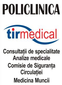 TIR MEDICAL - medicina muncii pentru toate profesiile - comisie pentru soferi profesionisti