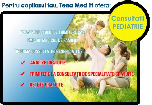 Consultatii pediatrie Terra Med